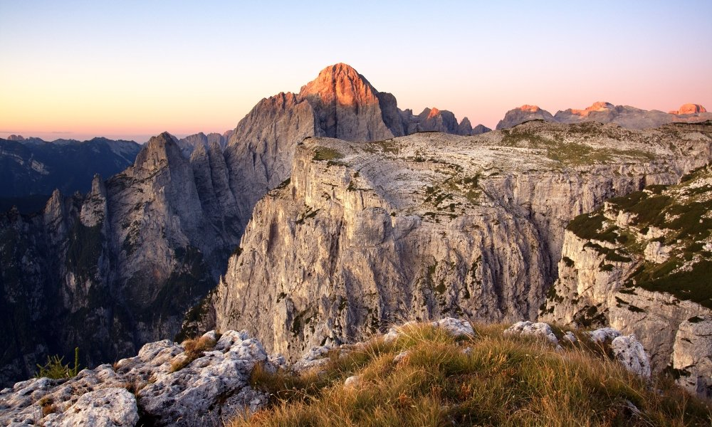 The Dolomites and its landscape